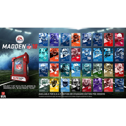 PS4 Madden NFL 18 (US)