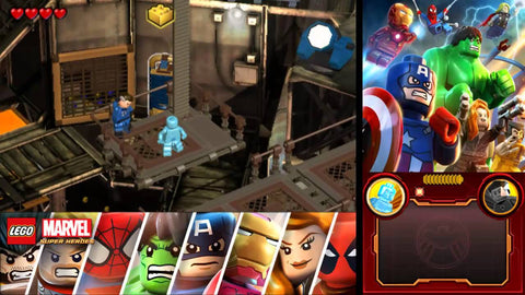 3DS LEGO Marvel Super Heroes: Universe in Peril