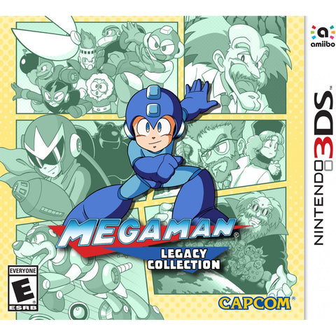 3DS Megaman Amiibo Legacy Collection