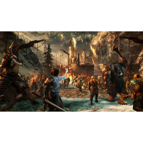 PS4 Middle Earth: Shadow Of War - Silver Edition (Chi Subtitle)