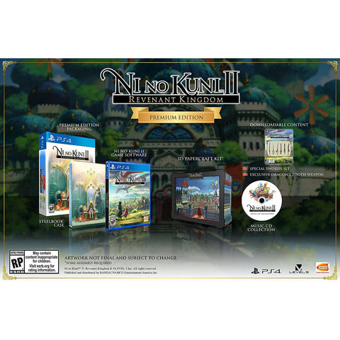 PS4 Ni No Kuni II Revenant Kingdom Premium Edition (R1)