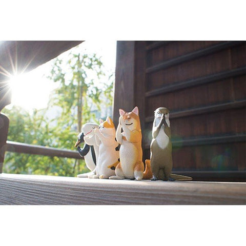 Gassho Miniature Animal Praying Figure full set Vol 1