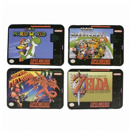 Nintendo Super NES Coaster (Set of 4)