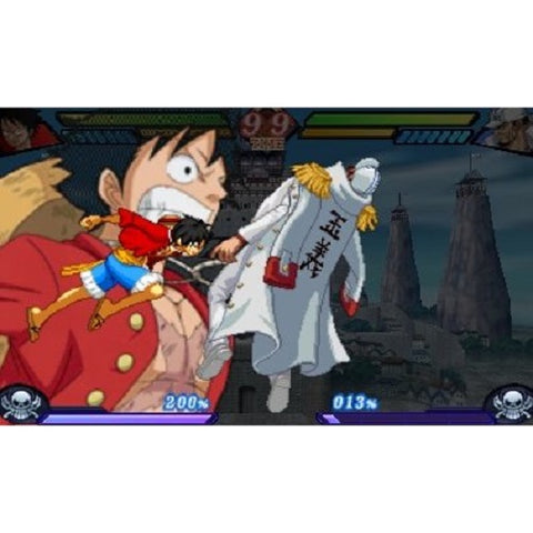 3DS One Piece Dai Kaizoku Colosseum (Jap)