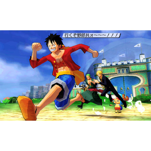3DS One Piece: Unlimited World (Jap)