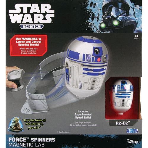 "Force Spinners Magnetic Lab (R2-D2) Ramp (6""x4.5x1.9)"