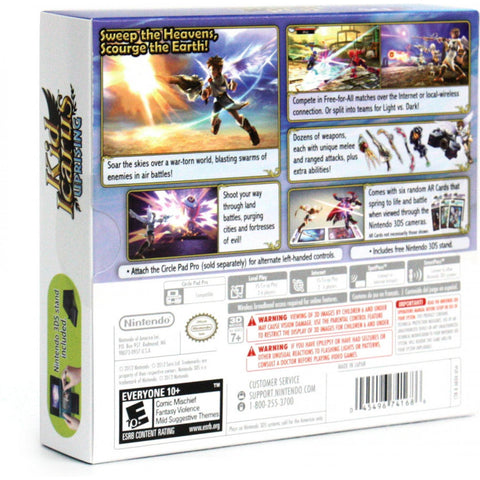 3DS KID ICARUS UPRISING