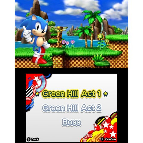 3DS Sonic Generations