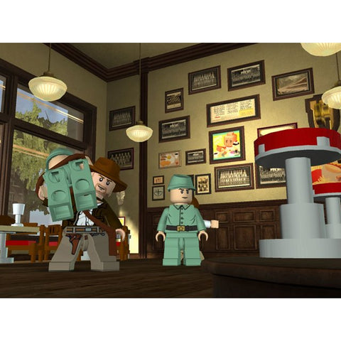 PC LEGO Indiana Jones 2 The Adventure Continue