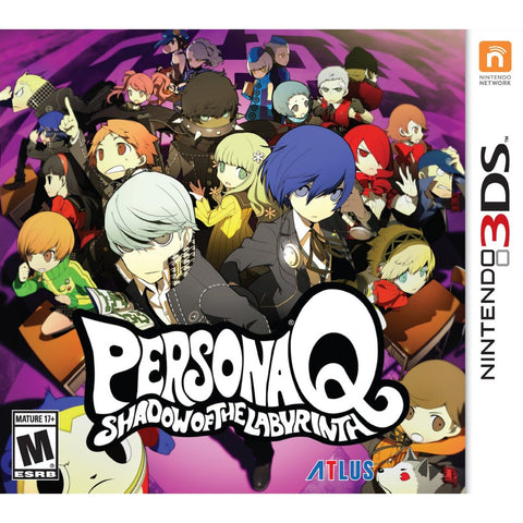 3DS Persona Q Shadow of the Labyrinth