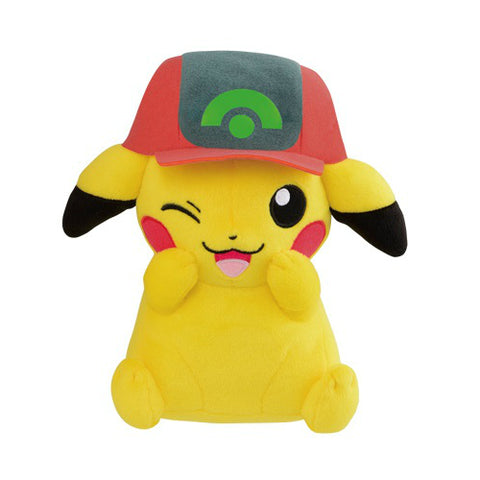 Pokemon Pikachu Plush Ash Cap (Hoenn Version)