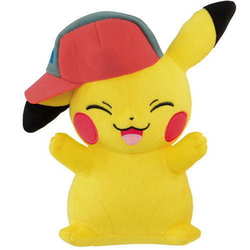 Pokemon Pikachu Plush Ash Cap (Sinnoh Version)