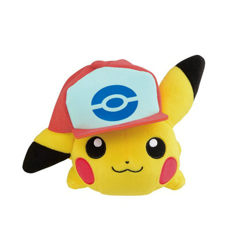 Pokemon Pikachu Plush Ash Cap (Unova Version)