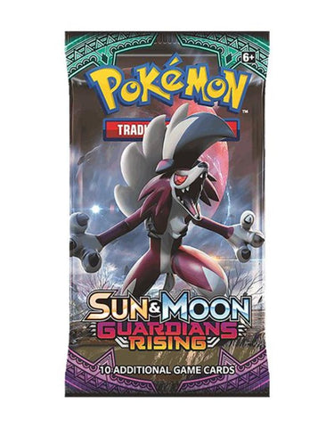 Pokemon Sun & Moon SM2 Guardians Rising Booster