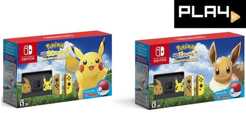 Nintendo Switch Let's Go Pokemon Console Bundle