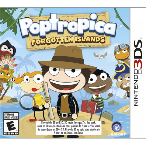 3DS Poptropica Forgotten Islands