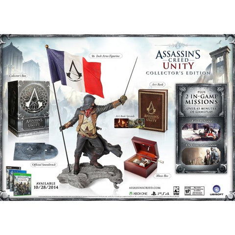 PS4 Assassin's Creed Unity Collectors Edition