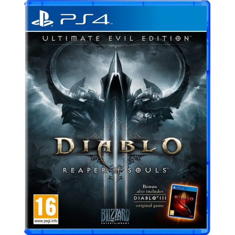 PS4 Diablo 3 Reaper Souls Ultimate Evil (Region 2)