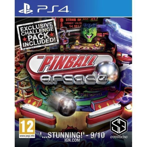PS4 The Pinball Arcade (Region 2)