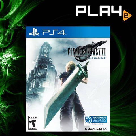 PS4 Final Fantasy 7 Remake (Pre-order)