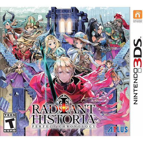 3DS RADIANT HISTORIA PERFECT CHRONOLOGY