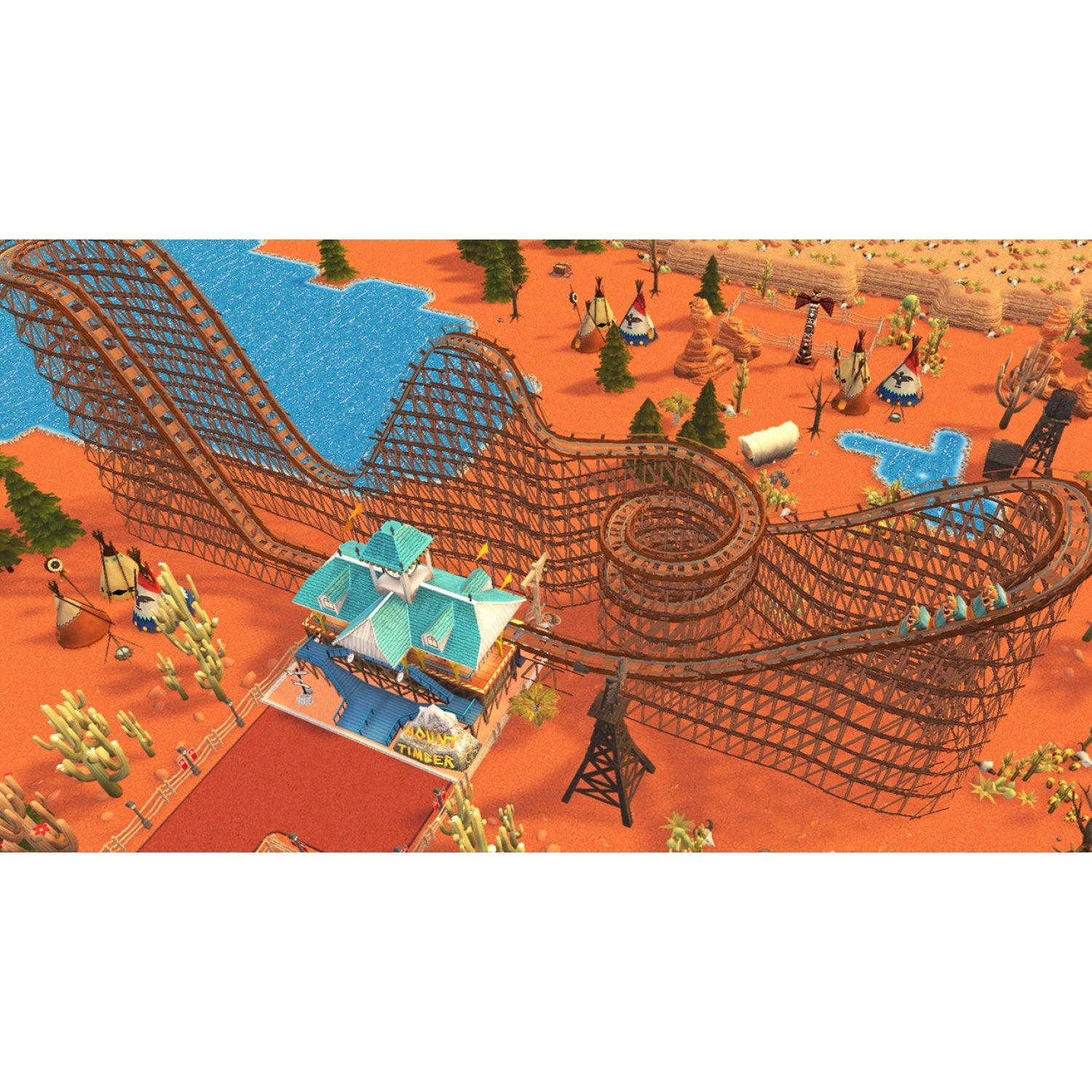 Nintendo Switch Rollercoaster Tycoon Adventure | PLAYe