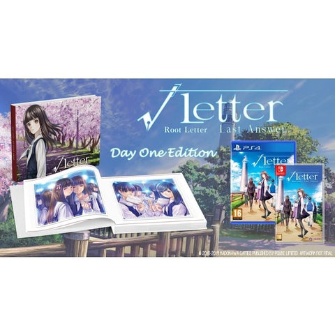 Nintendo Switch Root Letter: Last Answer Day 1 Edition (EU)