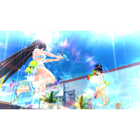 PS4 Senran Kagura Peach Beach Splash (CHI Subtitle)