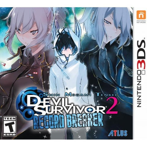 3DS Shin Megami Tensei: Devil Survivor 2 Record Breaker