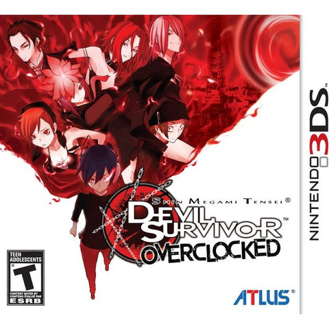 3DS Shin Megami Tensei: Devil Survivor Overclocked