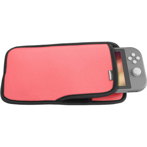 Nintendo Switch Lite Game Tech Soft Pouch - Pink