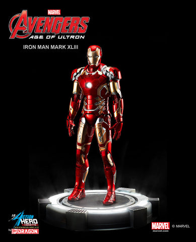 Action Hero Vignette Avengers -Age of Ultron Iron Man Mark 43