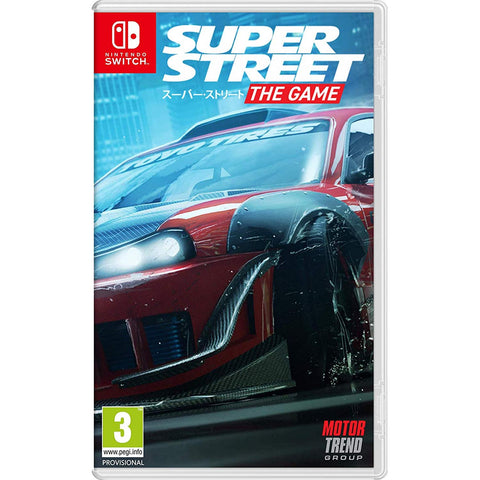 Nintendo Switch SUPER STREET: THE GAME