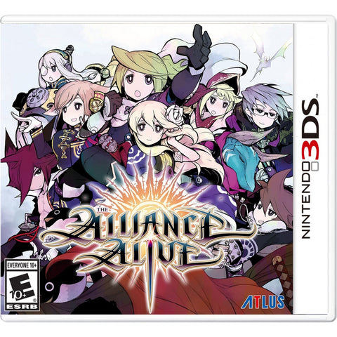 3DS The Alliance Alive