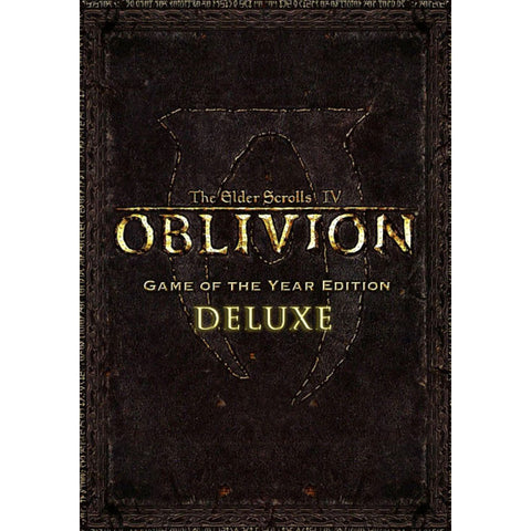 The Elder Scrolls IV: Oblivion Game of the Year Edition (Digital Copy)