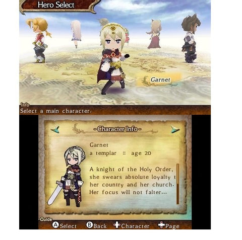 3DS The Legend of Legacy