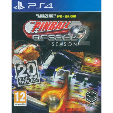 PS4 The Pinball Arcade Season 2 (EU)