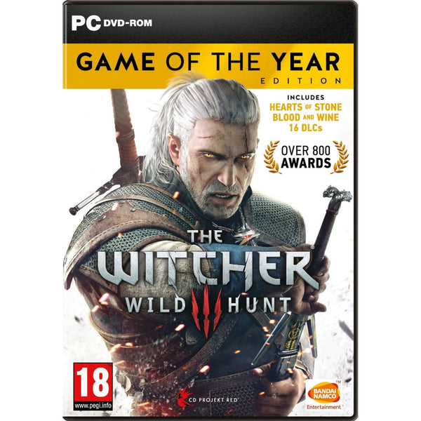 PC The Witcher 3 Game of the Year Edition (Digital Copy)