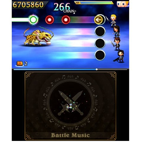 3DS Theatrhythm Final Fantasy: Curtain Call