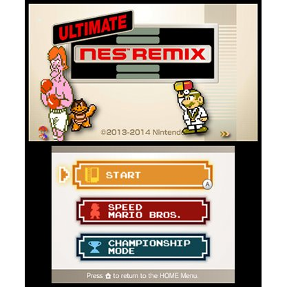 3DS Ultimate Nes Remix