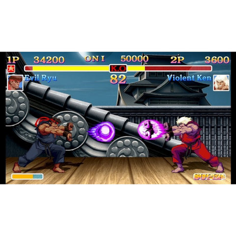 Switch Street Fighter II Final Challenge