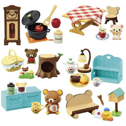 Re-Ment Rilakkuma Small Forest House (Set of 6)