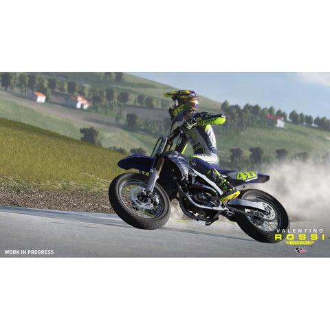 PS4 Moto GP Valentine Rossi The Game