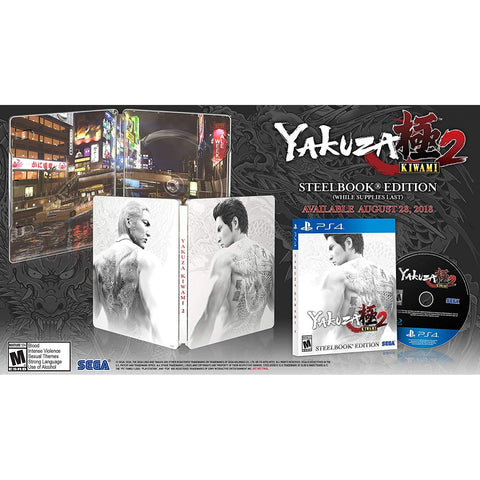 PS4 YAKUZA KIWAMI 2 (STEELBOOK EDITION)