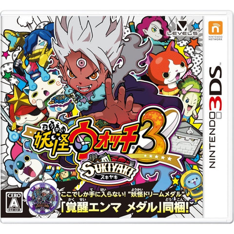 3DS YOKAI WATCH 3 SUKIYAKI (JAP)