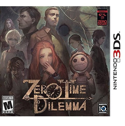 3DS ZERO TIME DILEMMA M18