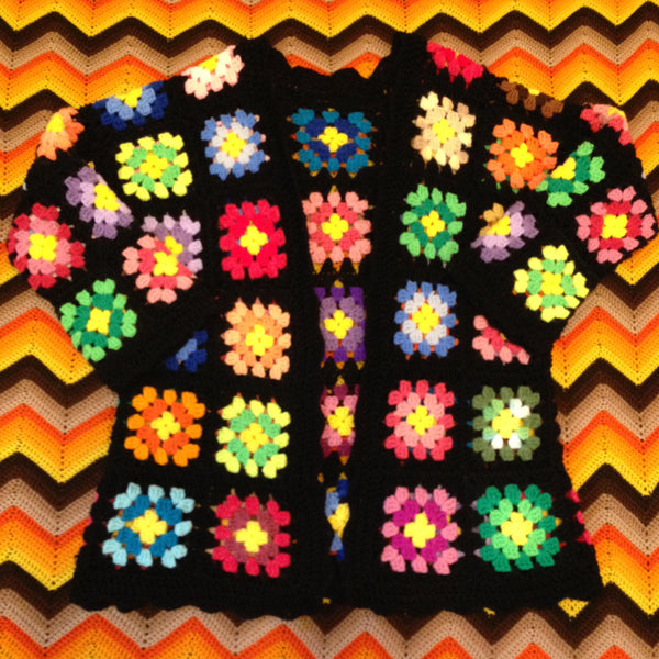 granny square cardigan crochet tutorial pattern how-to