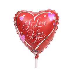 I Love You Balloon On Stick