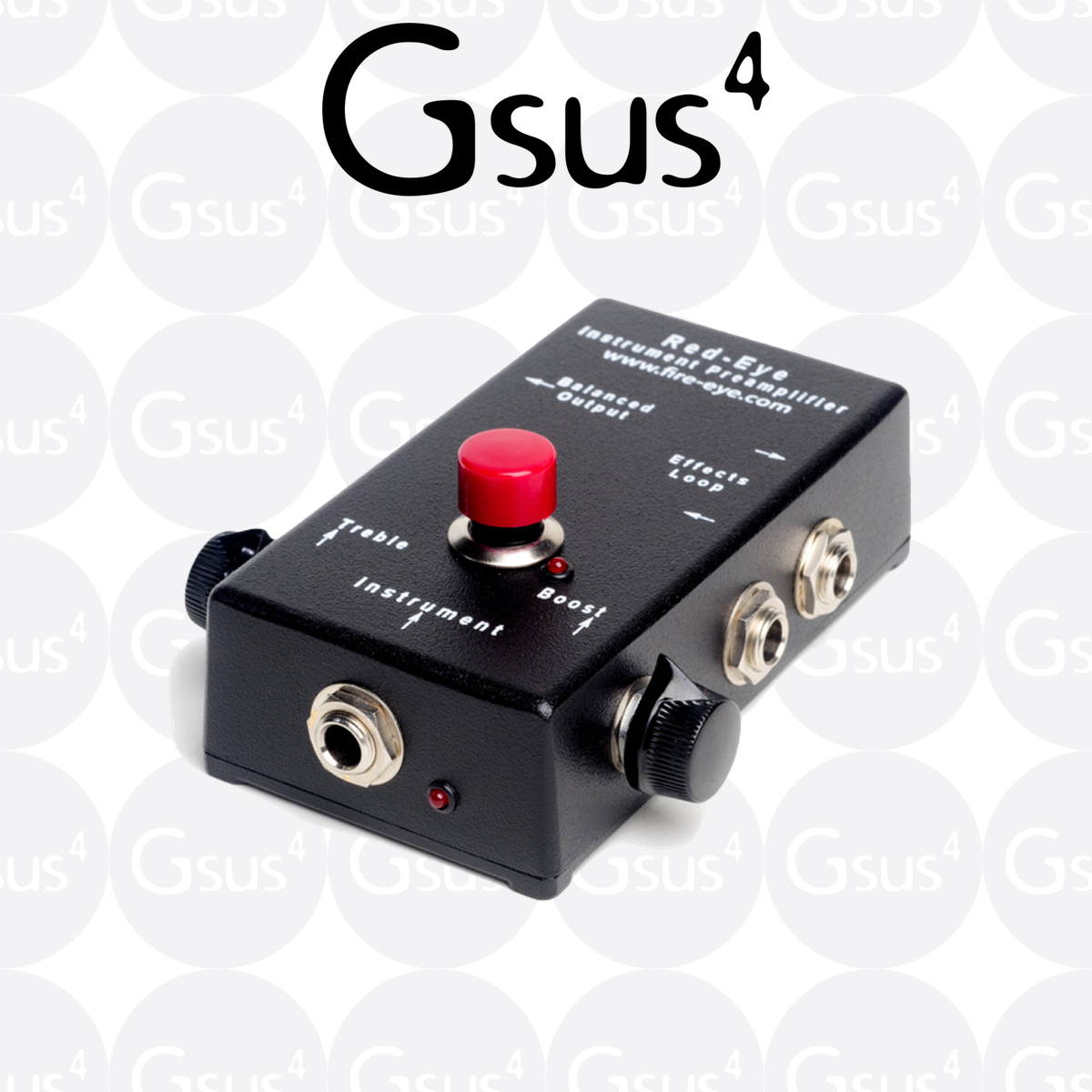 Red-Eye Preamp - Transducers, Piezo Pickups & Mics