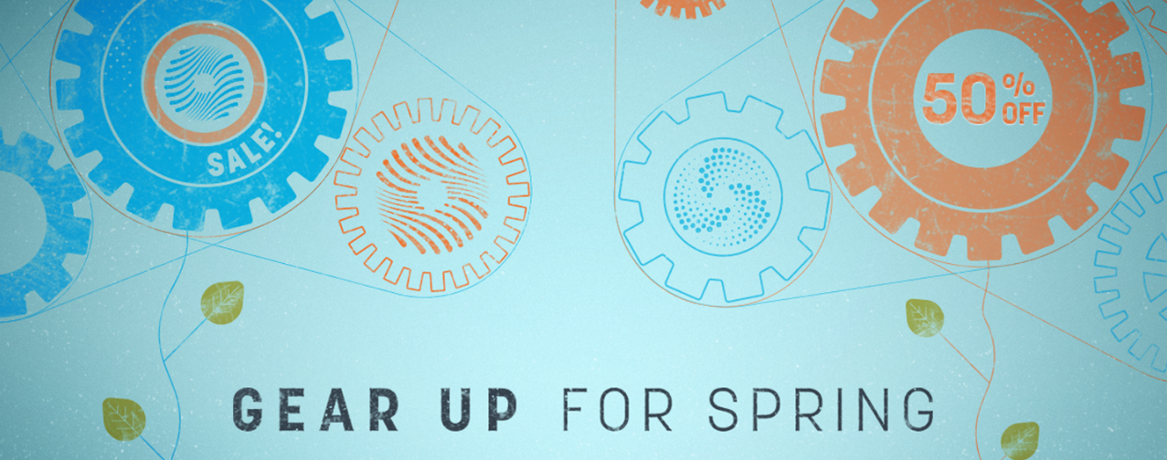 iZotope Gear Up for Spring Sales up to 50% OFF